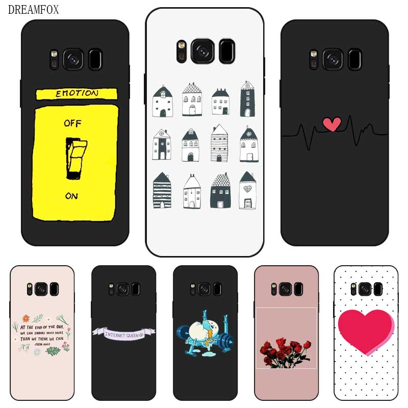 N394 Simple Wallpaper Black Silicone Case Cover For Samsung Galaxy S5 S6 S7 S8 S9 S10 5g S10e S11 S11e Lite Edge Plus Fitted Cases Aliexpress