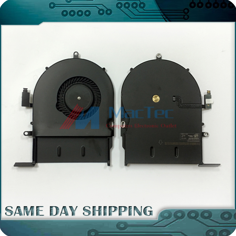 NEW Cooling Fan CPU Cooler for Macbook Pro 13 A1502 2013 2014 2015 Year KDB06105HC-HM01 076-1450 Replacement Fan Tested!