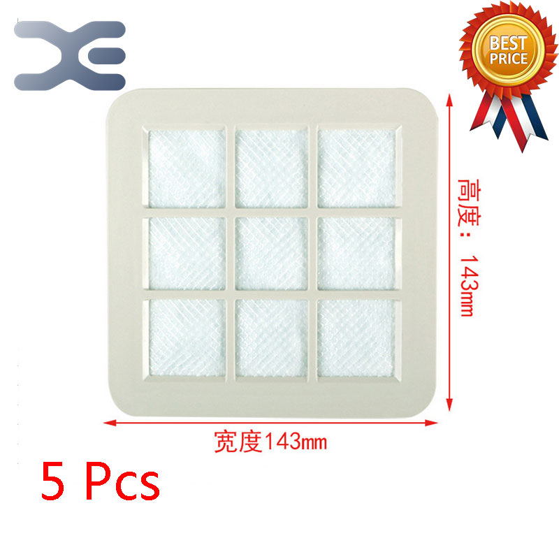 5Pcs Lot High Quality Adaptation For Philips Vacuum Cleaner Accessories Filter FC5830 / 5225/5823 Filter Filter Cotton
