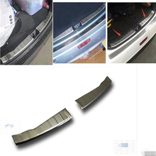 Lapetus Inner Rear Door Bumper Protect Sill Plate Cover Trim Stainless Steel Fit For Mitsubishi ASX RVR 2010 2011 2012 2013 2014