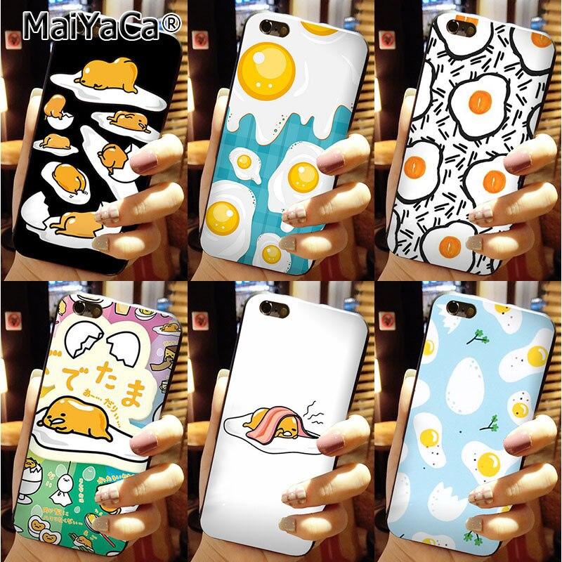 MaiYaCa Classic image phone <font><b>case</b></font> <font><b>Gudetama</b></font> Fried Eggs For <font><b>iPhone</b></font> 6s plus 6plus <font><b>Case</b></font>
