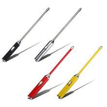 USB перезаряжаемая электрическая дуговая Зажигалка длинная гибкая шея ветрозащитная беспламенная свеча зажигалки для кухни газовая плита на открытом воздухе