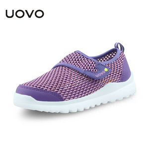 Image 3 - UOVO Spring Summer Kids Shoes Breathable Casual Shoes For Boys And Girls Light weight Sport Shoes Kids Sneakers Size 28# 37#