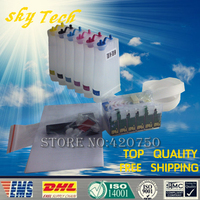 81N Empty CISS for T0811N to T0816N , Ink System For Epson T50 R290 R390 RX590 RX610 RX690 1410 TX650 700W with ARC Chips