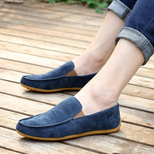 Fashion New Summer Style Men Shoes The Trend Of Male Moccasins men's Fashion Shoes Casual Shoes Lazy Breathable Flats