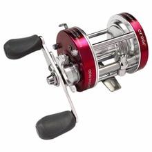 Misurelure CL50 5.2:1 2+1 Ball Bearing Lure Fishing Reel Left-Right Hand Optional Full Metal Round Drum Wheel Baitcasting Reel