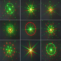 SXZM 9 Shapes Led Laser Light Waterproof Projector Lighting Switch AC85 265V Holiday Decoration For Christmas