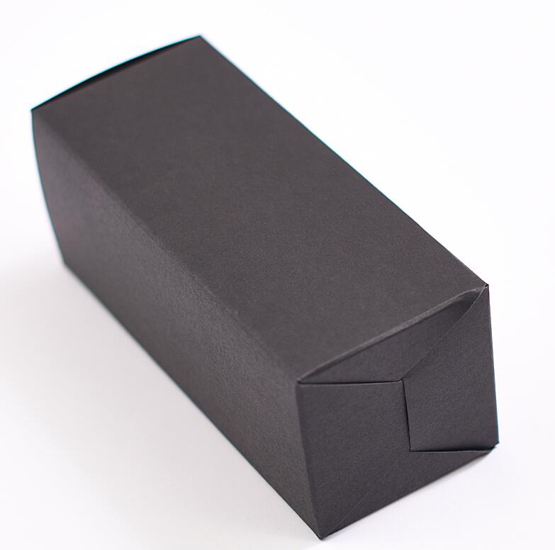 Qin,01.03 black Kraft Paper Packaging Boxes Handmade Soap Business ...