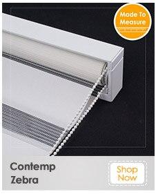 Schrling 100% cortinas de rolo de tensão