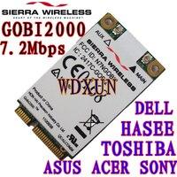 ใหม่S Ierra Wireless Gobi2000 3กรัมมินิการ์ดPCI-EสำหรับDELLโตชิบา