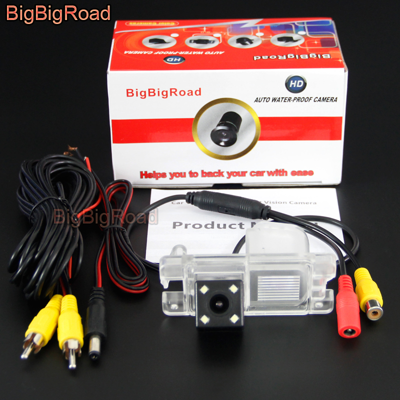 BigBigRoad Car Rear View Backup Camera For Mitsubishi Pajero Pinin TR4 IO America Version / L200 Triton 2015 Parking Camera