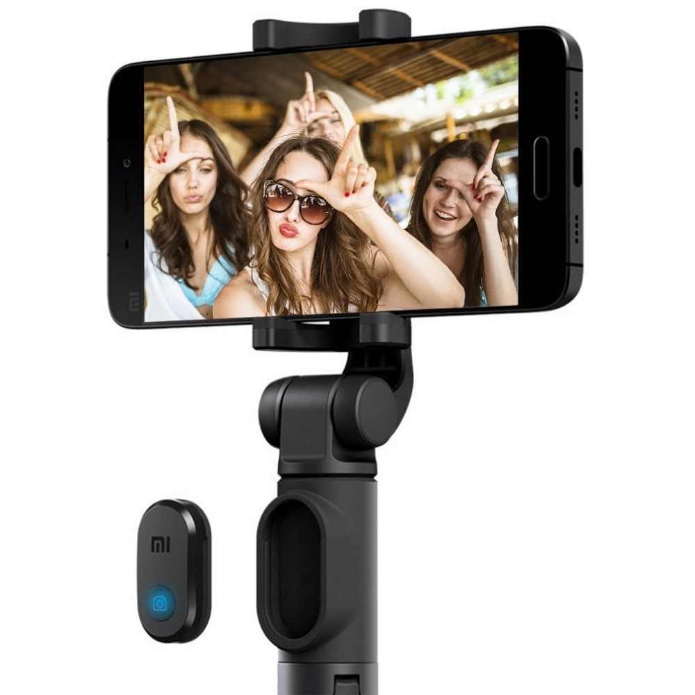 オリジナル Xiaomi 電話の Bluetooth ミニ三脚と Selfiestick ため Selfie スティックワイヤレスリモートシャッター Iphone サムスン Android 用