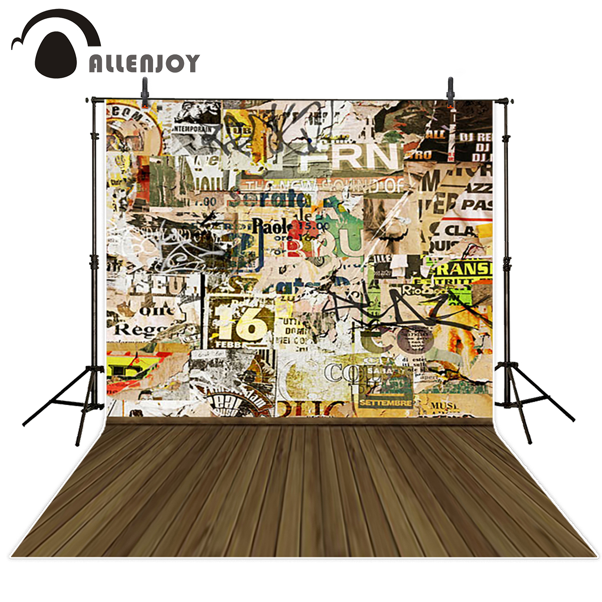 Allenjoy Graffiti wall wood floor photography backdrops street newborns baby shower background photo studio photocall props allenjoy photography backdrop brick wall wooden floor white baby shower children background photo studio photocall