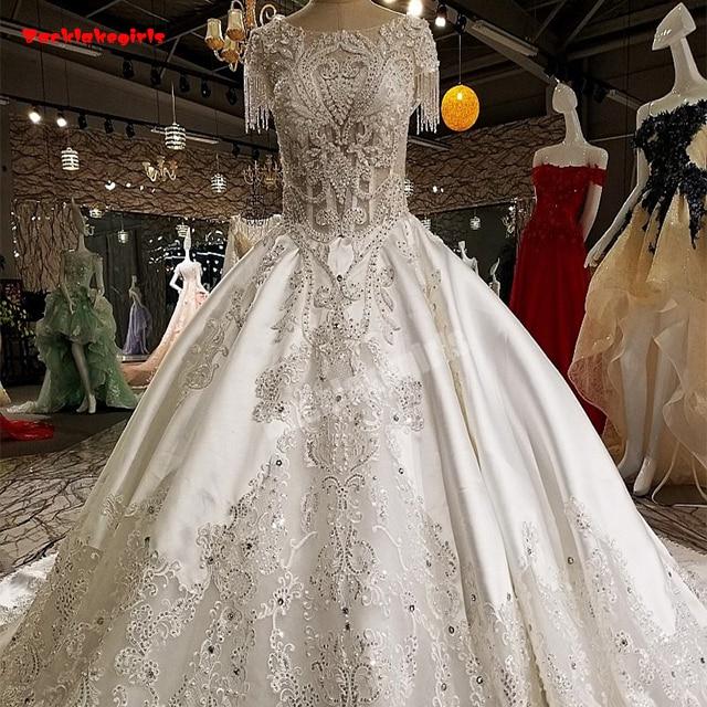 Wedding Gown Fabric Guide: Aliexpress.com : Buy 00231 Bridal Wedding Dress Satin