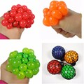 1Pc 2016 Hot Cute Anti Stress Face Reliever Grape Ball Autism Mood Squeeze Relief Healthy Toy Funny Geek Gadget Vent Toy GYH