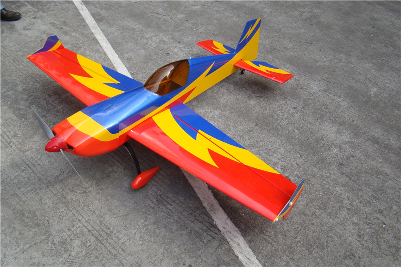 Extra 330 57 V2 Balsa Wood Fixed Wing RC Airplane Model Electric 1148mm ...