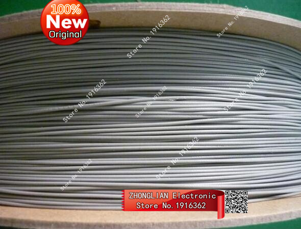 10Meter/1PCS/Lot 1.13 1.13mm Wires/Coaxial Antenna Cable 50ohm 10M Grey color