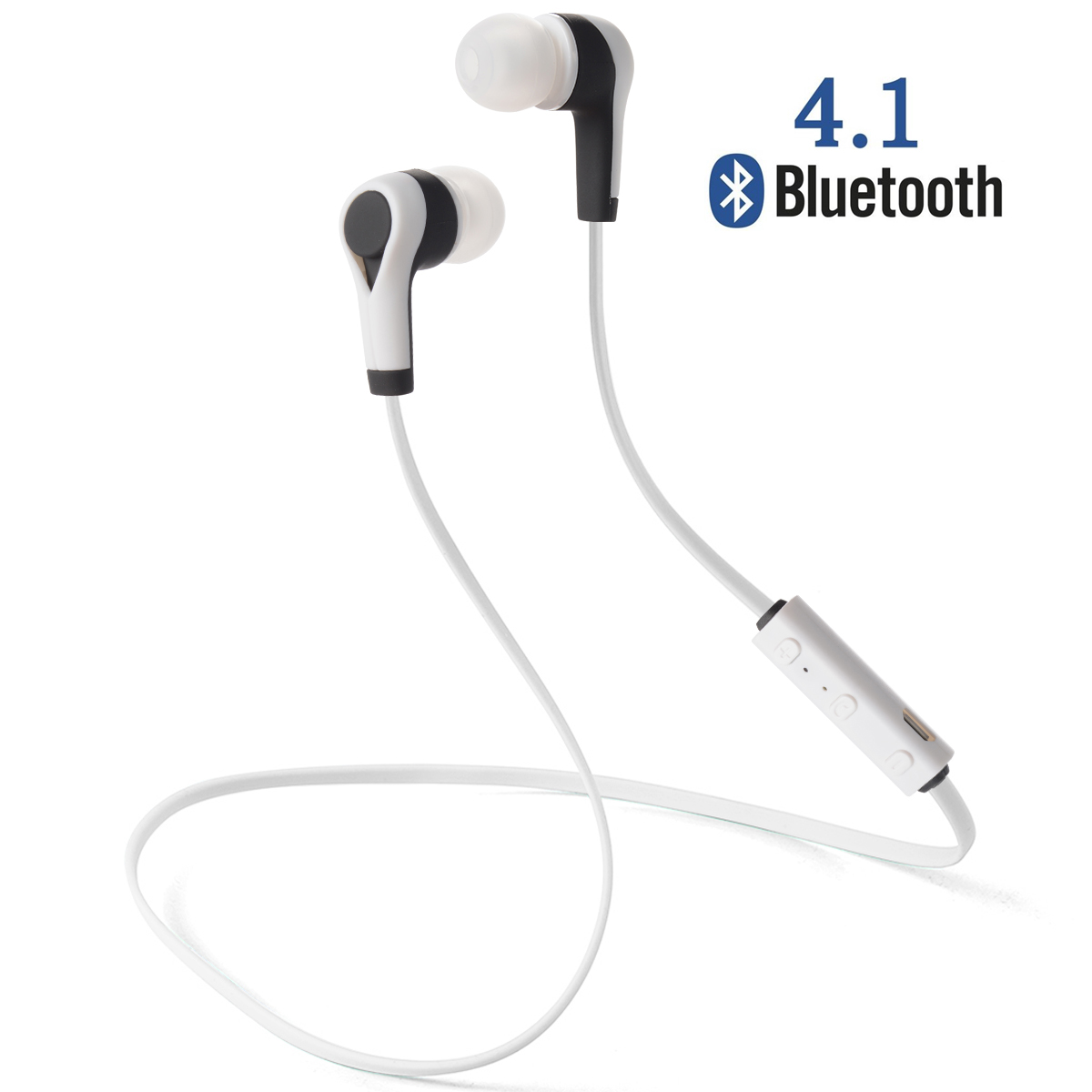 Bluetooth 4.1 Wireless Sweatproof Auriculares Auriculares manos libres Sport TH1