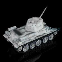 Henglong 1/16 снег 6,0 Модернизированный металлический советский T34-85 I rc Танк 3909 360 башни TH12923