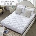 SHIDANDA White Mattress Memory Foam Breathable Bed Mat Cotton Bedding With Apron King Size Mattress Warm Blanket Mattress Topper