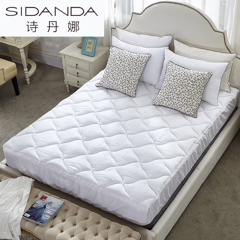 Sidanda White Mattress Memory Foam Home Bed Mat Cotton