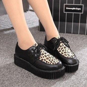 Γυναικείο παπούτσι με πλατφόρμα / creepers