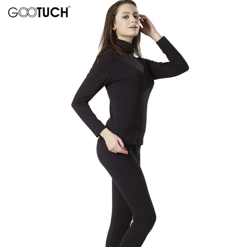 Women's Winter Thermal Underwear Sets Plus Size Long Johns Set Turtleneck Thermo Underwears Set Female Fitness Long Johns 7248