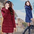 Winter Space Cotton Jacket Women Long Down Coat Parkas Thickening Female Warm Clothes Hooded High Quality Hat Woman Coat Coats