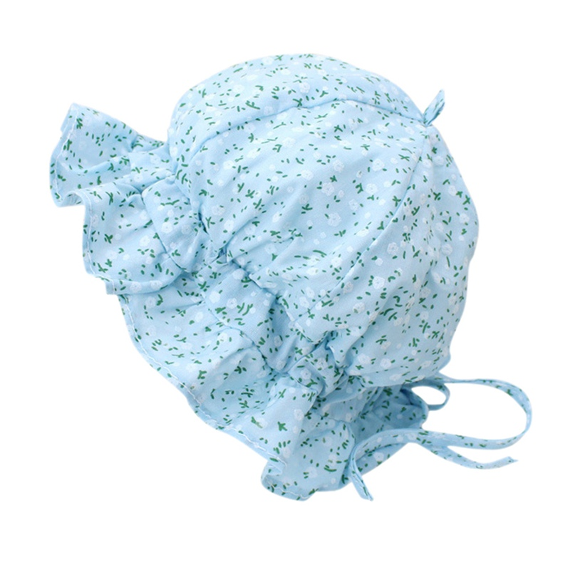 Cute Spring Autumn Baby Hat Lace Princess Basin Caps Children Sun Visor Hats Fashion Cap Q1