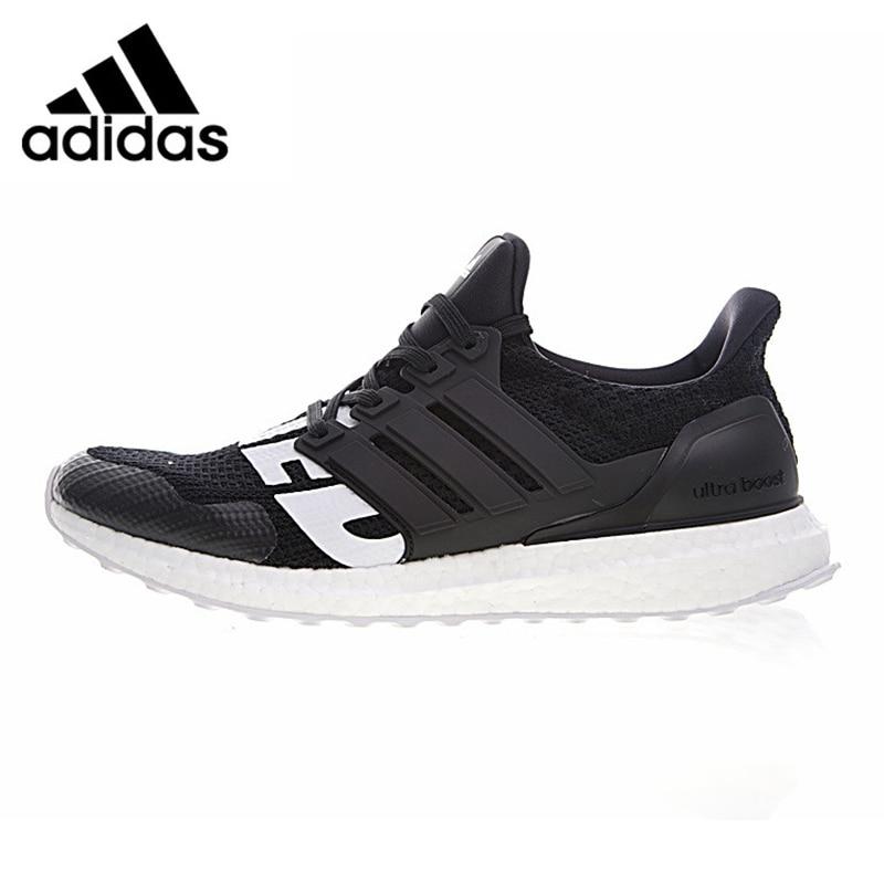 Adidas Ultraboost UNDFTD Invicto zapatos corrientes de los hombres, negro, antideslizante transpirable ligero resistente a la abrasión B22480