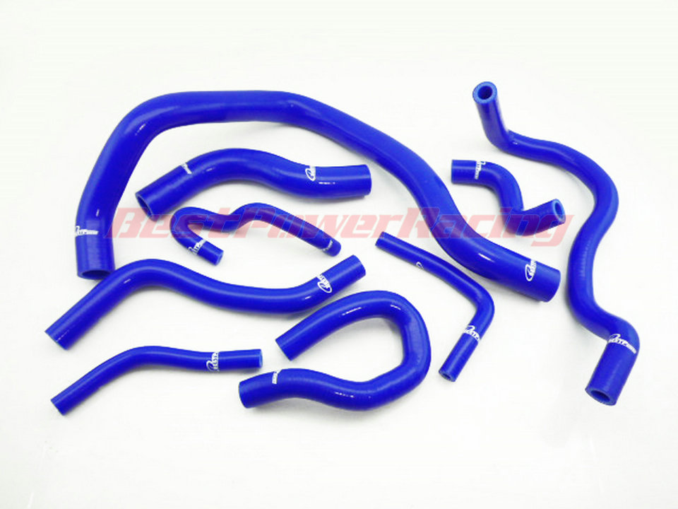 Silicone Radiator hose for HONDA CIVIC VTi EK EG D15 D16 1.5 VTI blue free shipping jdmspeed spark plug wire set fits for honda civic del sol 1992 2000 eg ek ej d15 d16 spiral core