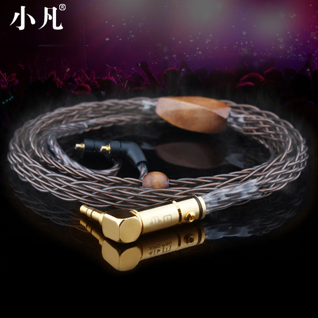 Handmade 8 core cable Headphone wire 535UE900a3z7hd650ie80 ...