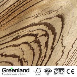 Image 5 - Zebrano (CC) impiallacciature di legno Pavimenti In Mobili FAI DA TE Materiale Naturale camera da letto sedia da tavolo Della Pelle Dimensioni 250x20 centimetri da tavolo Impiallacciatura