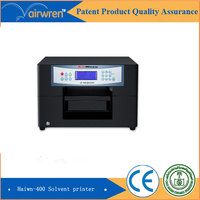 Best Sale A4 Size Metal Inkjet Flatbed Printer Eco Solvent Printing Machine