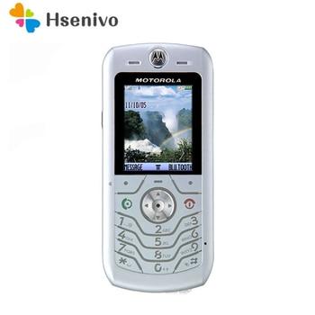 100% Original Unlocked Motorola L6 mobile phone with Bluetooth MP3 Phone one year warranty Free shipping