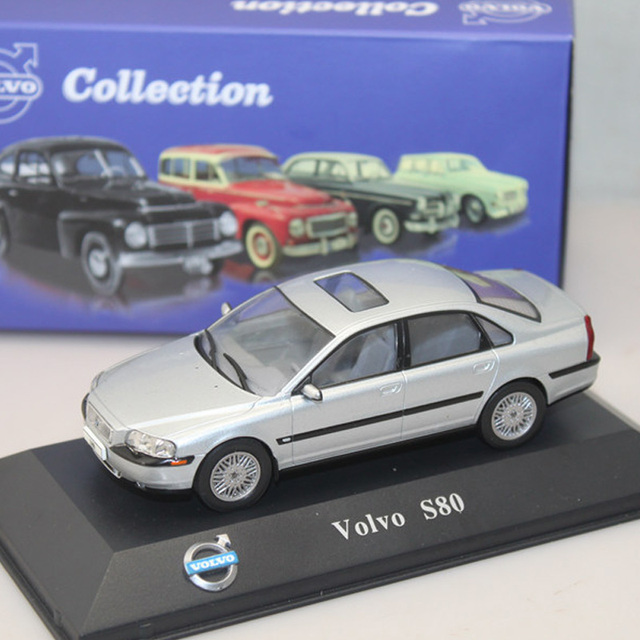 Diecast Toy Car Atlas 1 43 Volvo S80 Classic Alloy Car Models Of