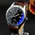 YAZOLE Männer Frauen Quarzuhr Blau ray Wasserdicht Paar Uhren Leucht Zeiger Kalender Boutique Business Armbanduhr YD310-in Quarz-Uhren aus Uhren bei