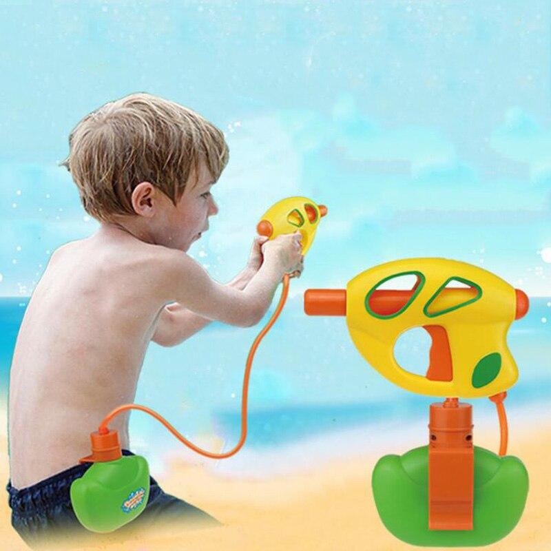 Children's Pockets Pressure Water Guns Range Far Summer Outdoor Portable Water Spray Swimming Water Gun Children's Model Toys
