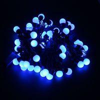 Multicolor 110V 220V 5M 50 LED Linkable Ball Holiday String Light For Home Decoration Wedding Birthday