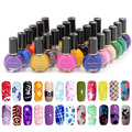 1Pcs Special Nail Polish 26 Color Optional For Nails Art Stamping Print 10ML color1-14