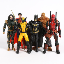 Doll Action-Figure Wolverine Thing Deadpool Clark Kent Aquaman Super-Heroes Model-Toy