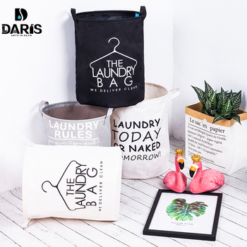 Folding Laundry Basket Bag