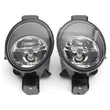 1 Pair RH LH Fog Lights w/ H11 Bulbs For Nissan Altima Maxima Rogue Sentra Clear