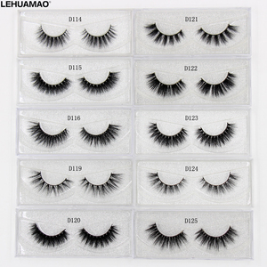 Image 1 - LEHUAMAO 3D Milk Lashes Mink Eyelashes Cross thick full strip False Eyelashes Cruelty Free make up eye lashes Upper Lashes 1Pair
