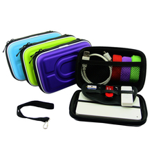 Portable Multifunction Travel Mobile Kit Case High Capacity Waterproof Storage Bag Digital Gadget Devices USB Cable Data Line O3