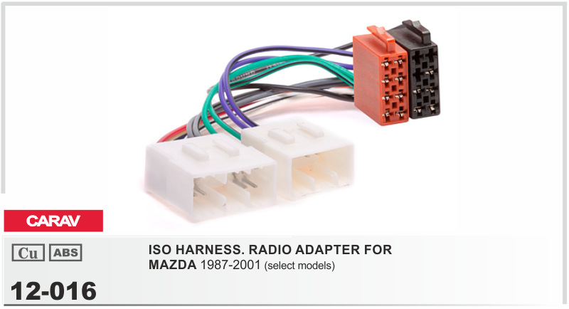compare prices on wiring harness mazda online shopping buy low carav 12 016 iso radio adapter for mazda 1987 2001 wiring harness connector lead