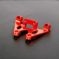 Baja CNC Alloy Front Shock Tower Support for 1/5 HPI Rovan KM Baja 5B 5T 5SC RC Car Parts