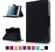 Leather Case Stand Cover For Universal Android Tablet PC PAD tablet 10 inch case universal For samsung galaxy tab 4 10.1 new kid color pretty printing buckle leather stand folio covers case for universal 10 10 1inch tablet pc