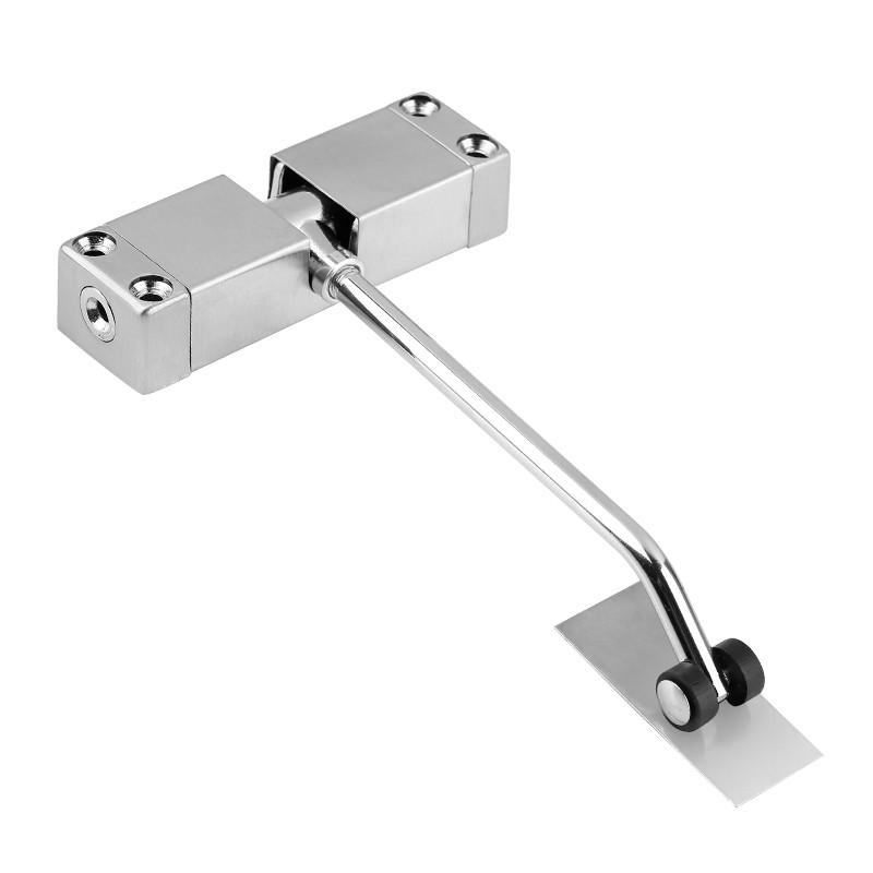 Automatic spring door closers Surface Mounted Auto Adjustable Stainless Steel Lock Door Closer Door Hardware 1pc automatic mounted spring door closer stainless steel adjustable surface door closer 160x96x20mm page 6