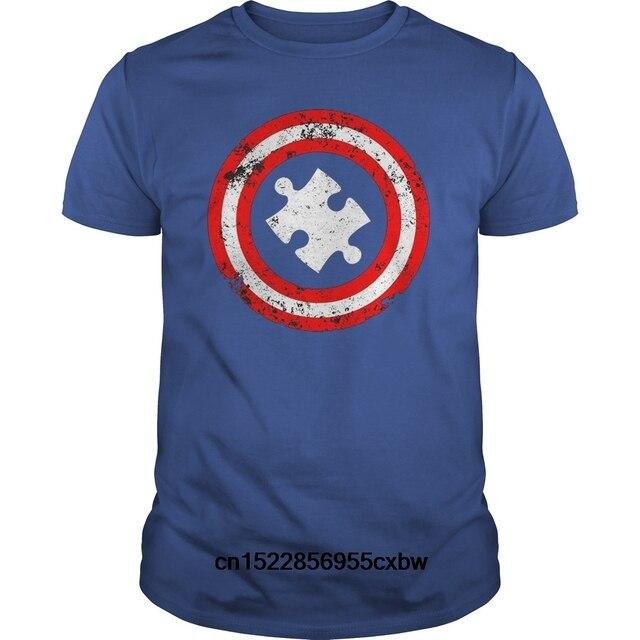 f6e52b1c Funny Men t shirt Women novelty tshirt Autism Awareness Shirt Captain Autism  cool T-Shirt
